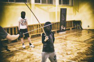 Trening szablistów - początkujący
